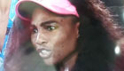 Watch Serena's reaction after Venus doesn't use hawkeye