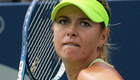 Sharapova positive after downing Bouchard