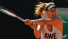 Sharapova sets up Suarez Navarro final in Rome