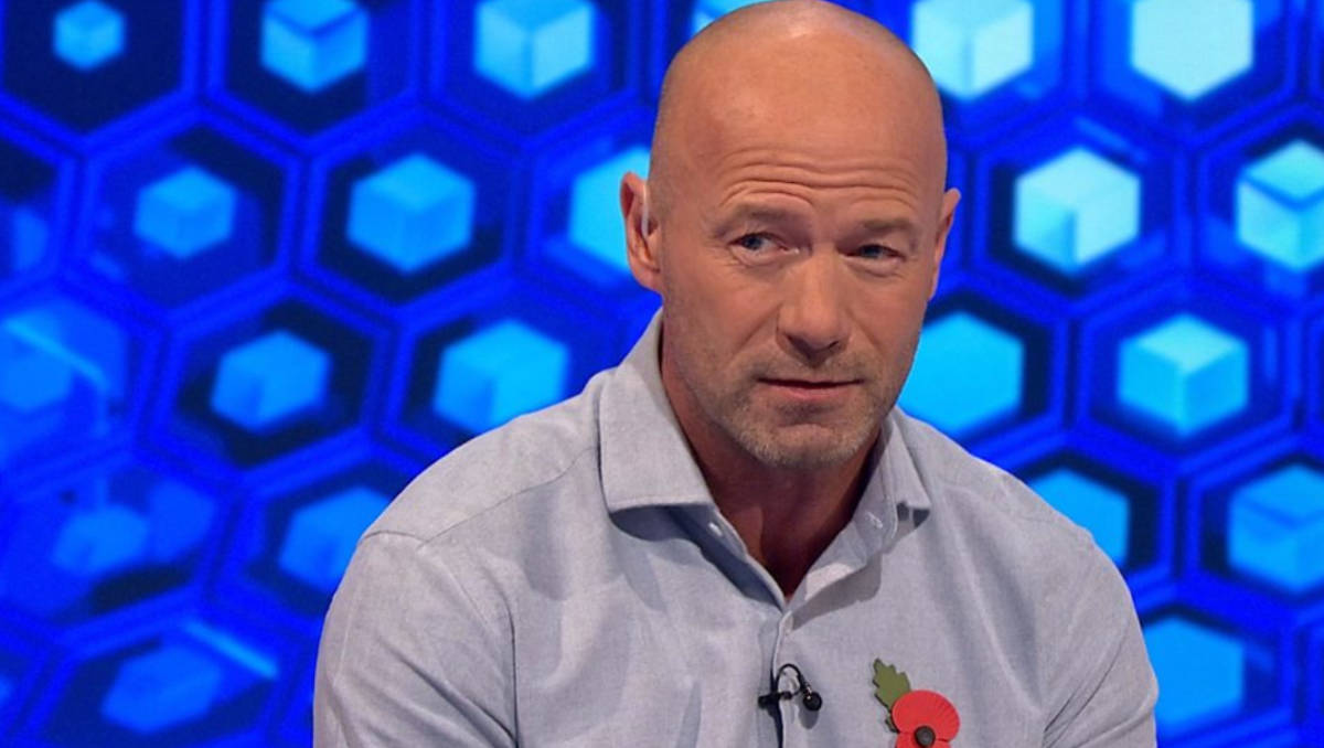 Alan Shearer (Photo: BBC Sport / Screengrab)