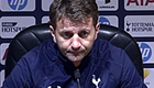 Sando plays down rift with Tottenham manager Tim Sherwood
