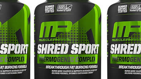 Shred Sport MusclePharm fat burner review