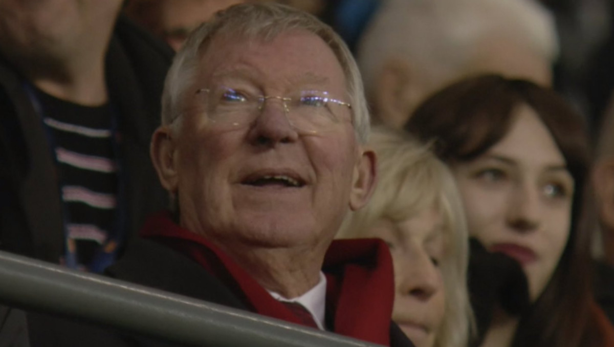 Sir Alex Ferguson (Photo: Sky Sports / Screen grab)