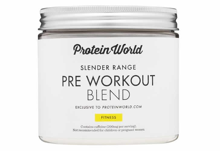 slender pre workout