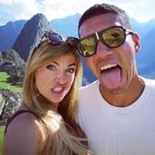 Man Utd defender takes Manu Picchu selfie