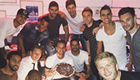 Soldado celebrates 30th with Spurs stars