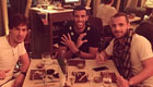 Photo: Roberto Soldado enjoys Sushi Samba after double Tottenham session