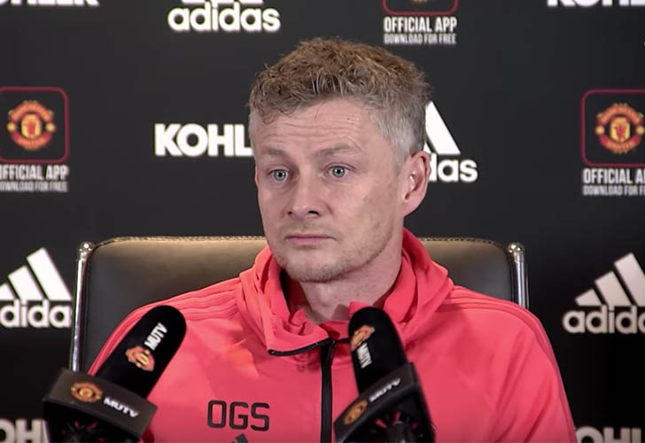 Ole Gunnar Solskjaer reprimands Manchester United superstar for arriving late for training