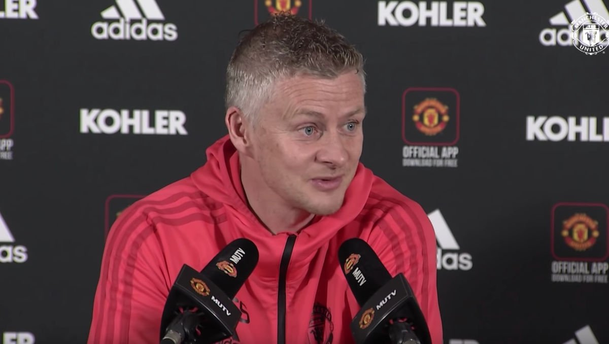Ole Gunnar Solskjaer (Photo: Screen grab)