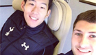 Photo: New Tottenham signing all smiles with Ben Davies