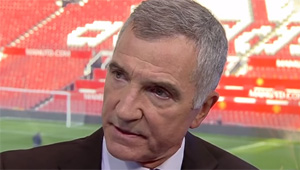 Graeme Souness reacts to Liverpool's 2-1 win over Tottenham