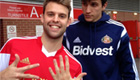 Photo: Southampton fan snaps cheeky pic of Sunderland's Santiago Vergini