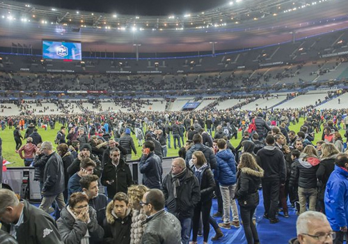 Paris attacks german football team forced to stay at for Overnight stay in paris