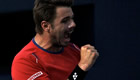 Monte Carlo Masters: Red-and-white letter day as Wawrinka tops Federer
