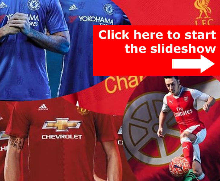 football shirt sales 2016