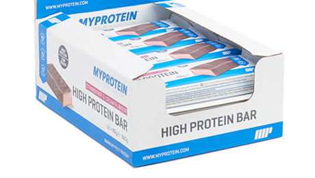 Review: Myprotein's high protein bars will keep you fuelled