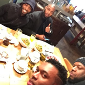 Sturridge enjoys meal with Tinie Tempah