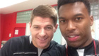 Photo: Liverpool's Steven Gerrard hails Daniel Sturridge and '3 big points'