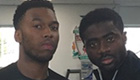 Photo: Liverpool's Daniel Sturridge and Kolo Toure refuse to smile