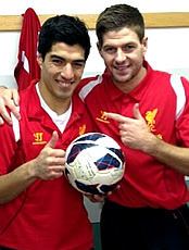 Luis Suarez reveals first conversation with Liverpool's Brendan Rodgers