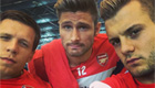 PHOTO: Wilshere enjoys 'club day' with team-mates