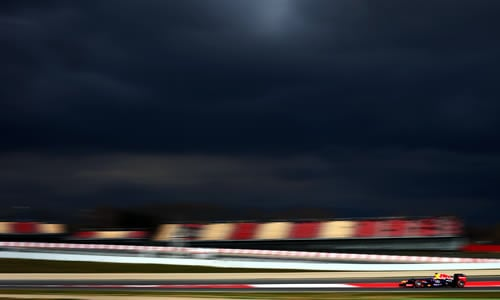 formula 1 pre-season testing barcelona