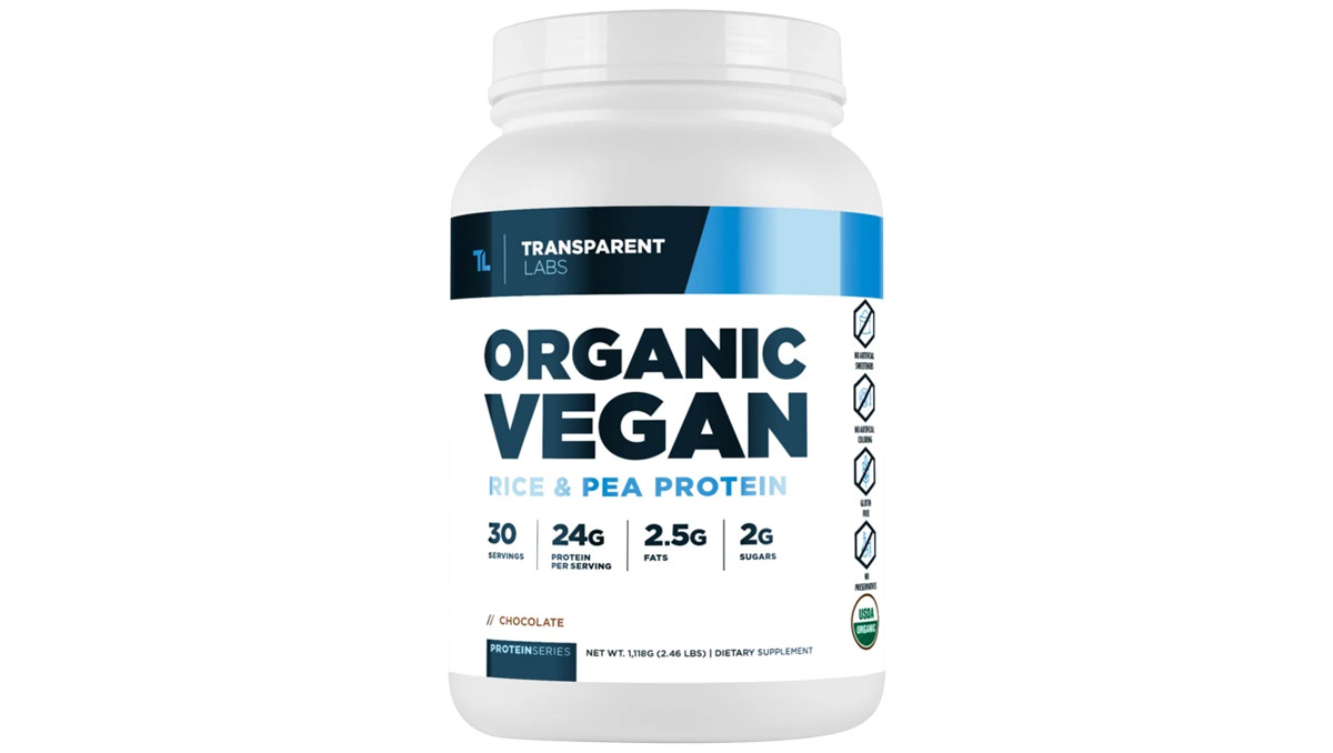 Transparent Labs Organic Vegan