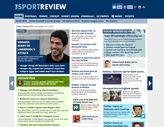 the sport review website