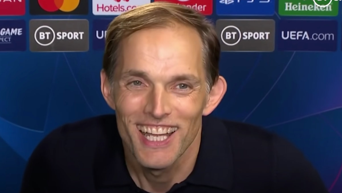 Chelsea FC manager Thomas Tuchel (Photo: Screen grab / BT Sport)