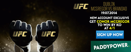 ufc enhanced odds