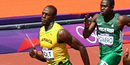 London 2012 Olympic athletics: Usain Bolt into 200m semi-finals