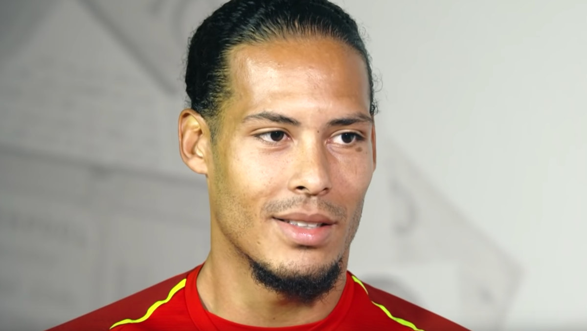 Virgil van Dijk (Photo: Sky Sports / YouTube)