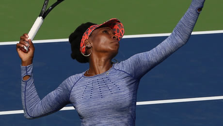 US Open 2017: Kvitova and Williams set blockbuster clash as Sharapova and Muguruza bid farewell