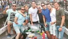 Vertonghen enjoys Amsterdam cruise with pals