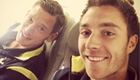 PHOTO: Eriksen and Vertonghen gear up for Belgrade trip