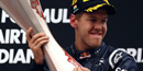Vettel holds off Alonso to seize victory in India
