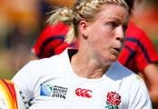 Women's Rugby World Cup: England make two changes for final