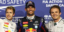 Abu Dhabi Grand Prix 2013: Red Bull's Webber pips Vettel to pole