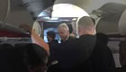 Photo: Arsenal boss Arsene Wenger on plane to Paris amid Edinson Cavani link