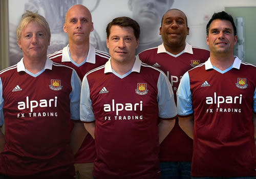 best sneakers f3427 4bfdd West Ham adidas home kit 2013-14: Legends love new strip