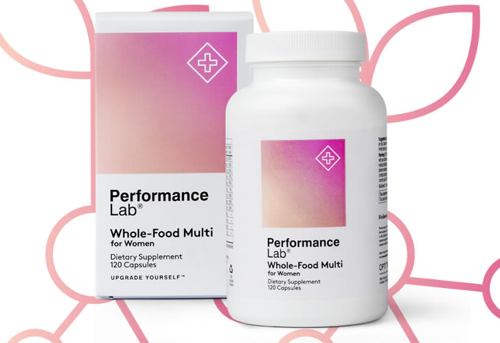 Performance Lab Whole-Food Multis for women
