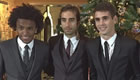 Flamini, Oscar and Willian suit up