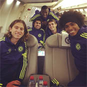 Willian posts Brazilian-themed Chelsea selfie