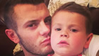 PHOTO: Wilshere enjoys downtime with his son