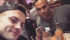 Wilshere enjoys Saturday meal at Nando's
