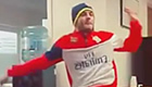 Watch Wilshere dance the 'Sturridge'