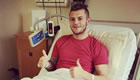Wilshere all smiles despite being ruled out for three months