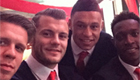 Photo: Jack Wilshere joins Arsenal team-mates for 'inspired' selfie