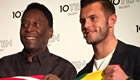 Photo: Arsenal star Jack Wilshere swaps shirts with Pele