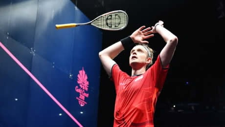 Gold at last for James Willstrop in fourth Commonwealth Games; Perry wins silver